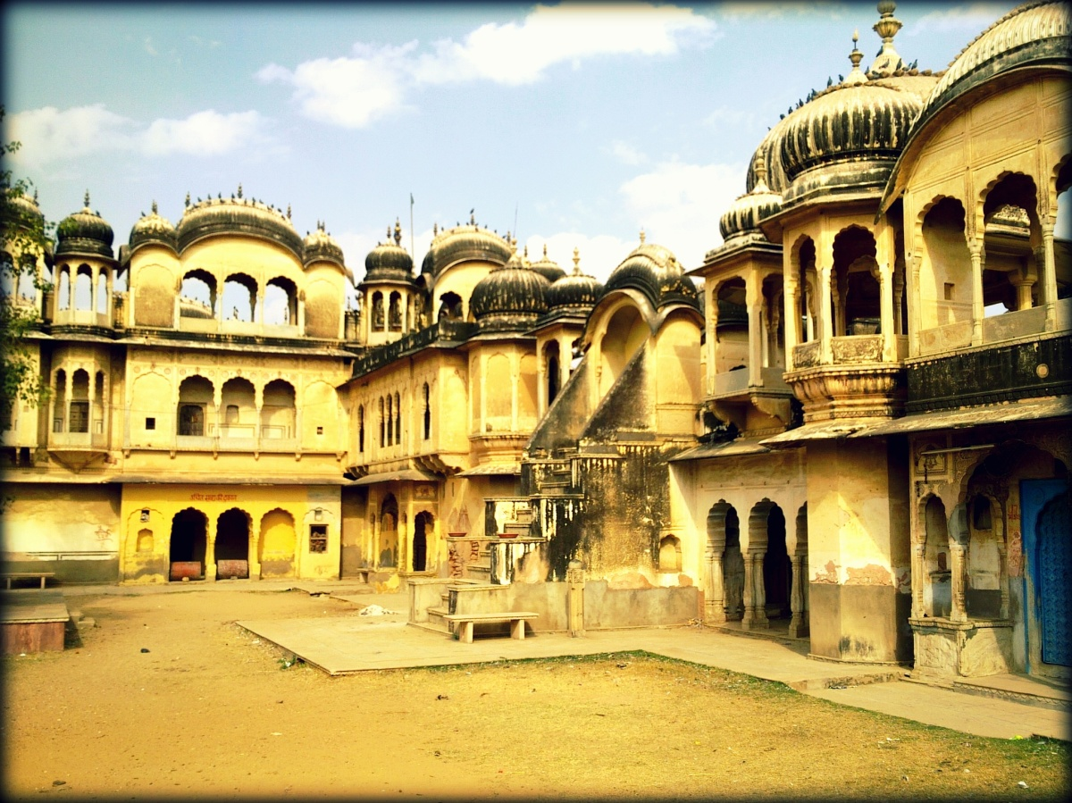 A Haveli in Traditional Design in Nawalgarh- Shekhawati Region, Nawalgarh